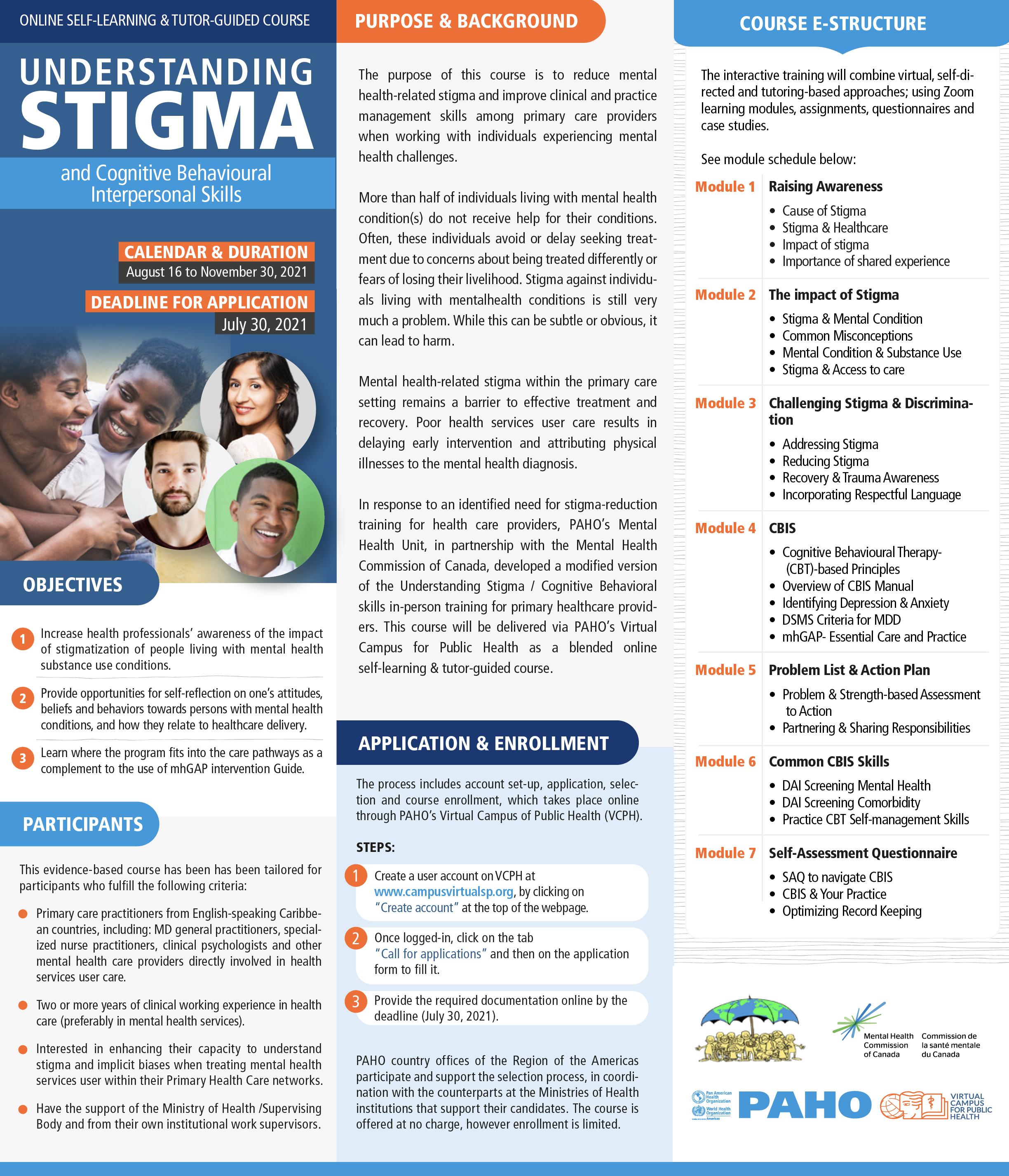 Understanding Stigma - Brochure